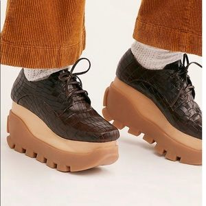 Jeffery Campbell Mixe Platform shoes